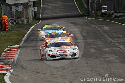 Ferrari Challenge European Series 2010 Editorial Photo
