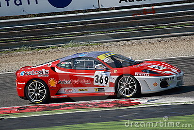 Ferrari Challenge European Series 2010 Editorial Photography
