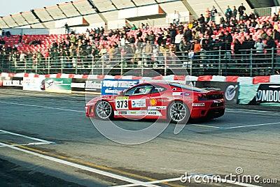 Ferrari Challenge Shell Cup,motor show bologna Editorial Photo