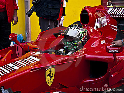 Ferrari Championship Editorial Photo