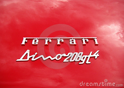 Ferrari Dino Editorial Photography