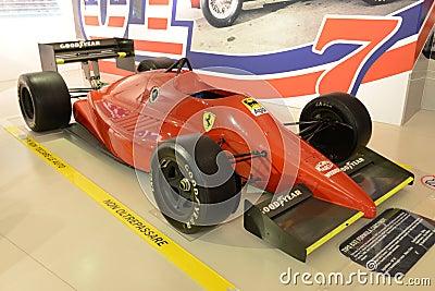 Ferrari F1 formula one racing car