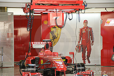 Ferrari F1 Editorial Photo