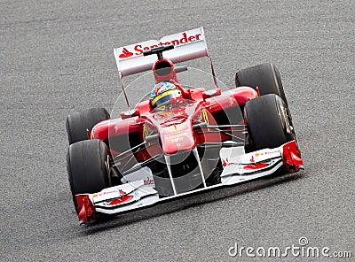 Ferrari F1 Editorial Photography
