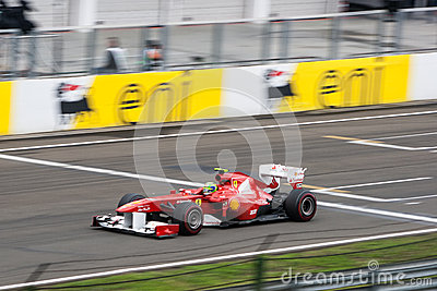Ferrari F1 Editorial Photography