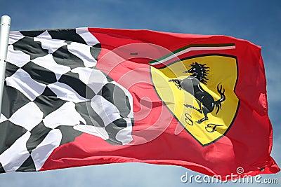 Ferrari F1 flag
