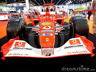 Ferrari F1 Racing Car Editorial Stock Image