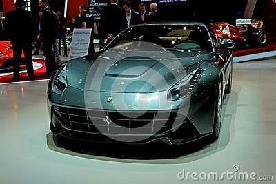 Ferrari F12 berlinetta 2014 Editorial Stock Image