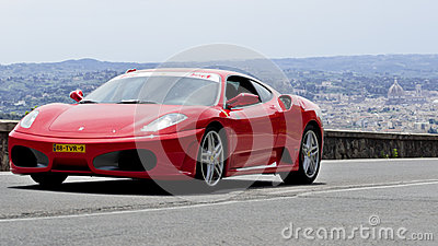 FERRARI F430 (2009) Editorial Stock Photo