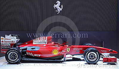 Ferrari Formula 1 Car Editorial Stock Photo