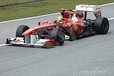 Ferrari Formula One Team: Felipe Massa Editorial Photography
