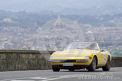 Ferrari 356 GTS4 Spider driven by Parmegiani Davide Editorial Photography