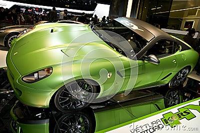 Ferrari Kers Editorial Stock Photo