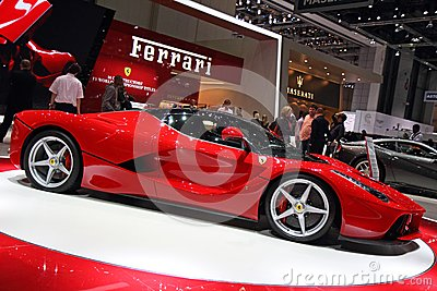 Ferrari LaFerrari - Geneva Motor Show 2013 Editorial Photo