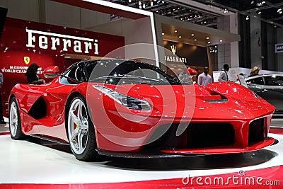 Ferrari LaFerrari - Geneva Motor Show 2013 Editorial Stock Image