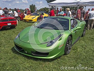 Ferrari 458 Editorial Photography