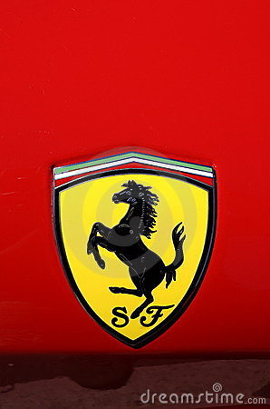 Ferrari logo Editorial Photo