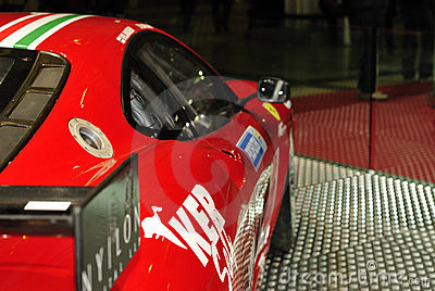 Ferrari official Challenge car Editorial Photo