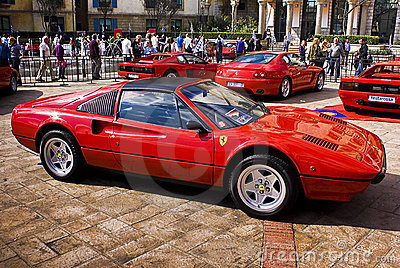 Ferrari Show Day - 308GTS Editorial Photography
