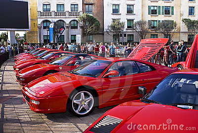 Ferrari Show Day - 355 F1 Berlinetta Editorial Photography