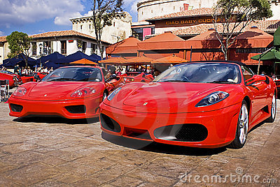 Ferrari Show Day - 360 Modena & F430 Spider Editorial Photo