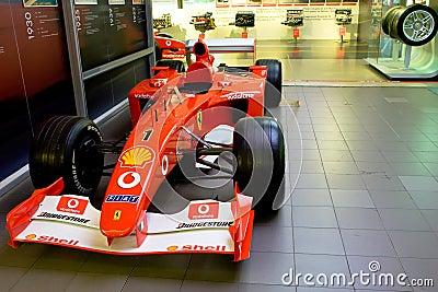 Ferrari sport car formula 1 Editorial Photo