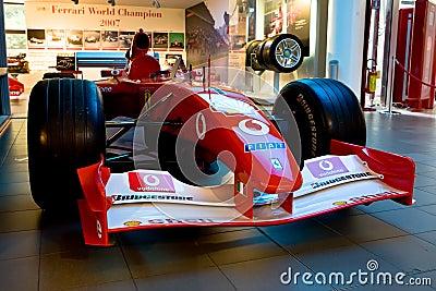 Ferrari sport car formula 1 Editorial Stock Photo