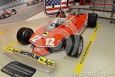 Ferrari 312 T4 F1 formula one racing car