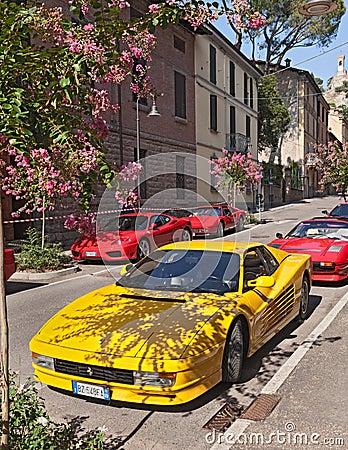 Ferrari Testarossa Editorial Stock Image