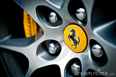 Ferrari wheel Editorial Image