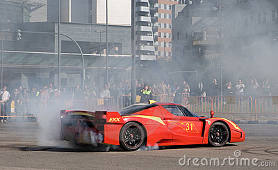 Ferrari World Finals Editorial Stock Image