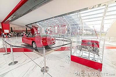 Ferrari World at Yas Island in Abu Dhabi Editorial Image