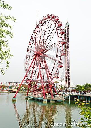 Ferris wheel Editorial Stock Image