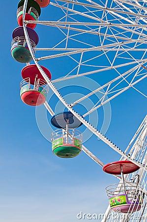 Free Ferris Wheel. Royalty Free Stock Image - 23022476