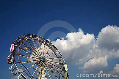 Ferris Wheel Royalty Free Stock Photos - Image: 2554658