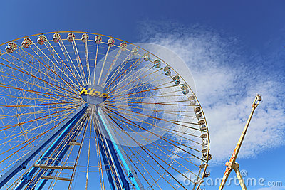 Ferris Wheel Editorial Stock Image