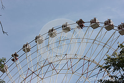 Ferris wheel at the All-Russian Exhibition Center