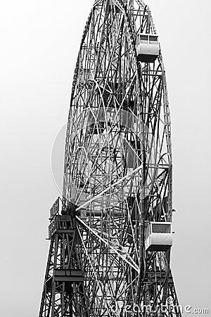 Ferris Wheel B&W