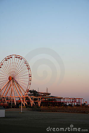 Ferris Wheel on Beach