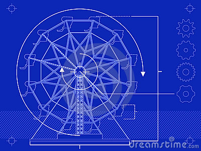 Ferris wheel blueprint