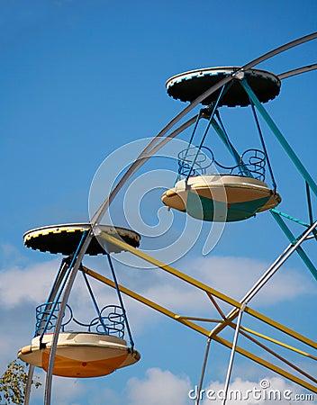 Ferris wheel carts