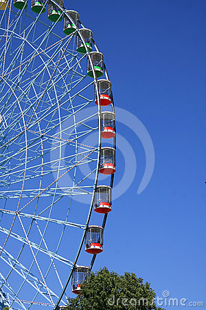Ferris wheel on day