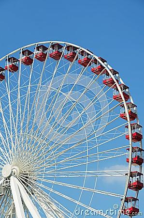 Ferris wheel detail