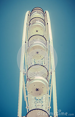 Free Ferris Wheel Detail Royalty Free Stock Image - 43292506