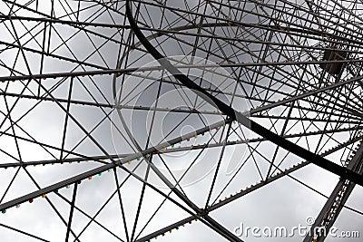 Ferris wheel framework
