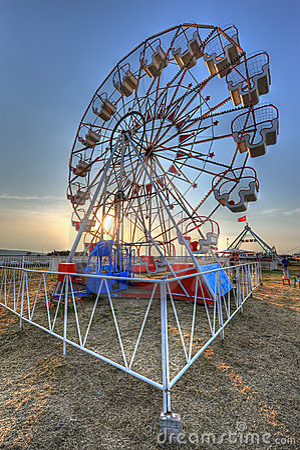 Ferris wheel HDR