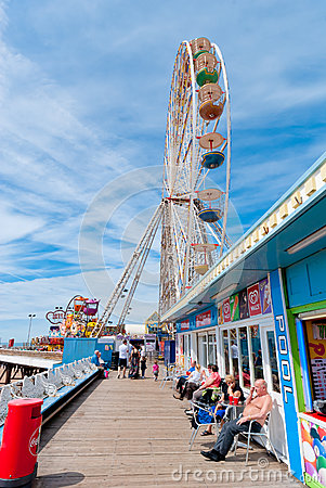 Ferris Wheel Editorial Stock Photo