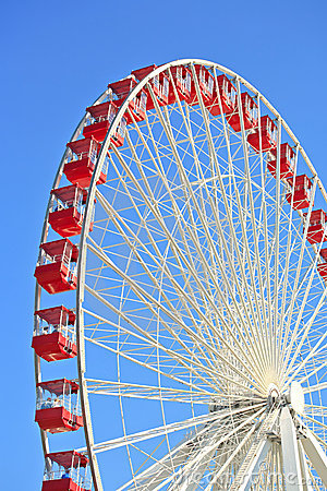 Ferris Wheel on Navy Pier, Chicago