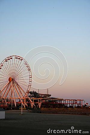 Free Ferris Wheel On Beach Royalty Free Stock Photo - 5897055