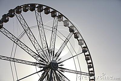 Ferris wheel in Paris, France